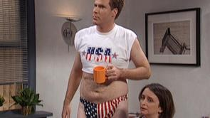 Will Ferrell's American Flag Thong