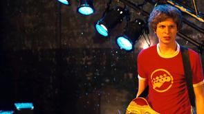 Scott Pilgrim's Bass Guitar Shirt