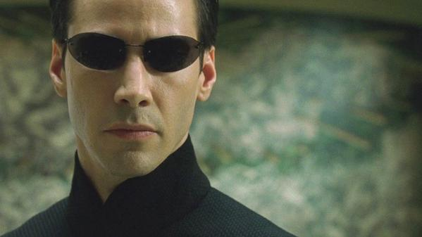 Neo's Matrix 2 Sunglasses