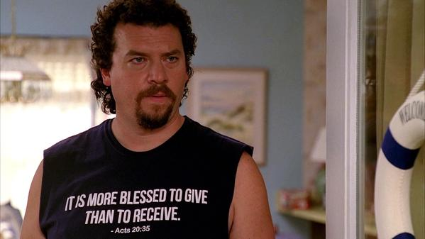 More Blessed to Give Than Receive Shirt