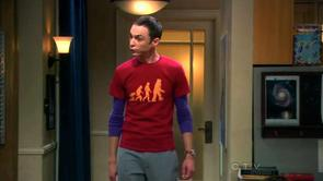 Sheldon's Robot Evolution Shirt