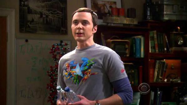 Sheldon's Justice League Shirt