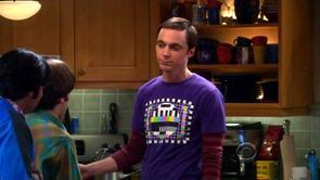 Sheldon's Philips Pattern Shirt