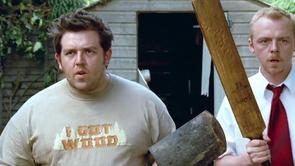 Nick Frost's I Got Wood Shirt