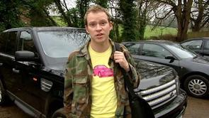 Jeremy's Pink Car Shirt