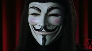 V's Guy Fawkes Mask