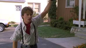 Marty McFly's Checkered Shirt