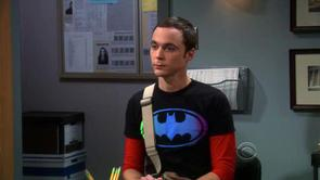 Sheldon's Gradient Batman Shirt
