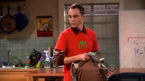 Sheldon's Space Invader Shirt
