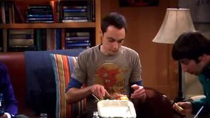 Sheldon's Grey Flash Shirt