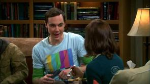 Sheldon's TV Test Pattern Shirt