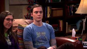 Sheldon's Batman & Robin Shirt