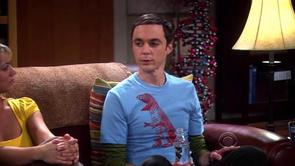 Sheldon's T Rex Shirt