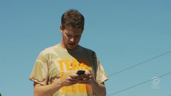 Tosh's Team Jesus Shirt