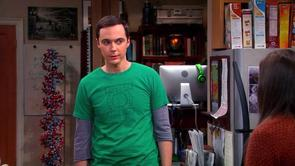 Sheldon's Meta Green Lantern Shirt