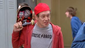 Steve Buscemi's Music Band Shirt