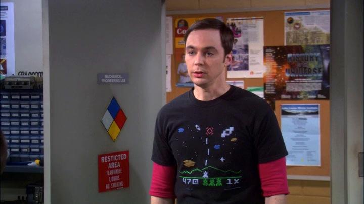 Sheldon S Astrosmash Shirt Filmgarb Com